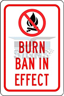 Best burn ban in effect sign Reviews