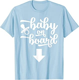 Best baby on board tshirt Reviews