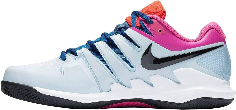 Amazon.com: Nike Air Zoom Vapor X Half Blue/Black/White/Laser ...
