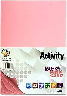 cancelleria confezione da 200 fogli carta di zucchero World of Colour formato A4 colori assortiti