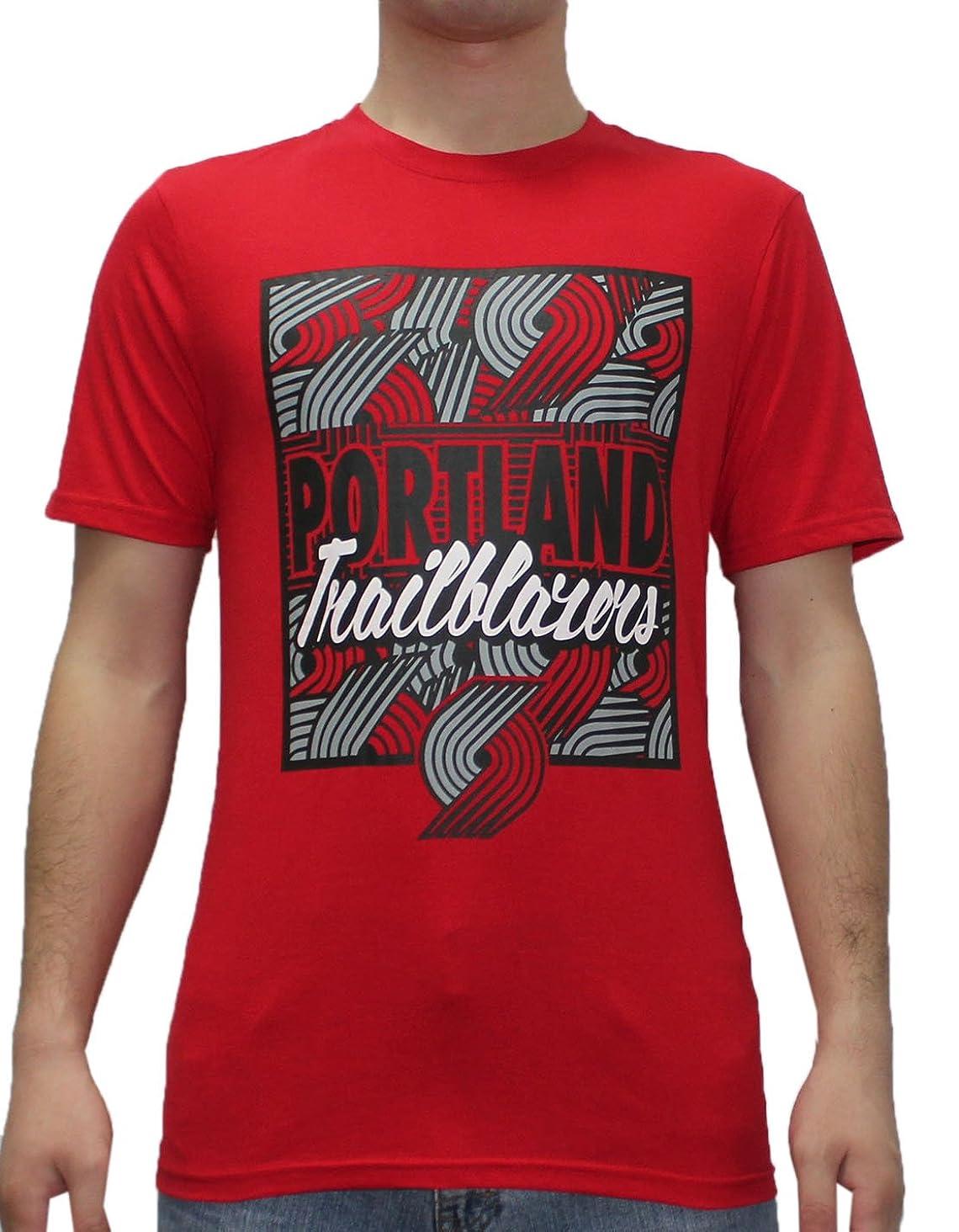NBA Mens PORTLAND TRAIL BLAZERS: Athletic Short Sleeve T Shirt