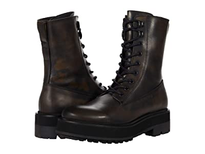 Free People Collins Combat Boot (Black) Women