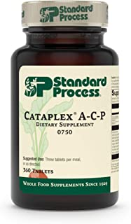 Standard Process Cataplex A-C-P Heart Health, Gum Health, Immune Support, and Vascular Supplement with Vitamin C, Magnesiu...