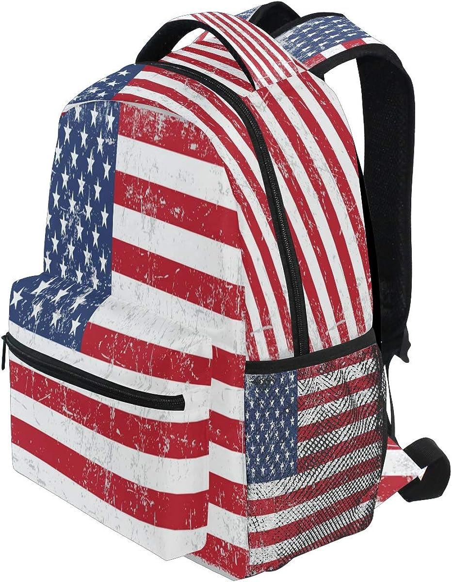 Blueangle Cute Cartoon Panda Print Travel Backpack for School Water Resistant Bookbag
