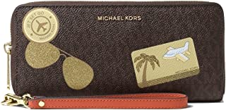 Michael Kors Women's Jet Set Continental Wallet