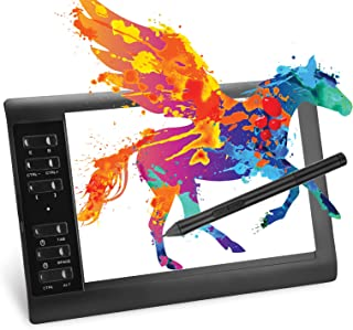 mlloaayo ペンタブレット 10x6.25インチ エクスプレスキー22個 8192ベル筆圧 板タブ Windows/Mac/Android対応 10mm薄型 軽量 充電不要 電子イラスト 初心者 オンライン授業