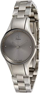 Calvin Klein Women's Silver Dial Stainless Steel Band Watch - K4323141