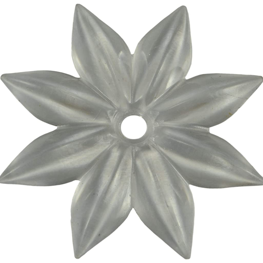 Hard-to-Find Fastener 014973157104 Mirror Rosettes, 2