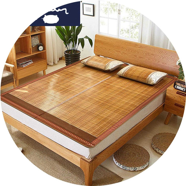 Bed Foldable Doublesided Rattan Mat Summer Mat Mat Mat Mat
