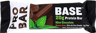 Probar Organic Mint Chocolate Core Bar Case of 12 2.46 Ounce, 2.46 Ounce