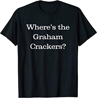 Michigan Nurse Union Where's the Graham Crackers t-shirt