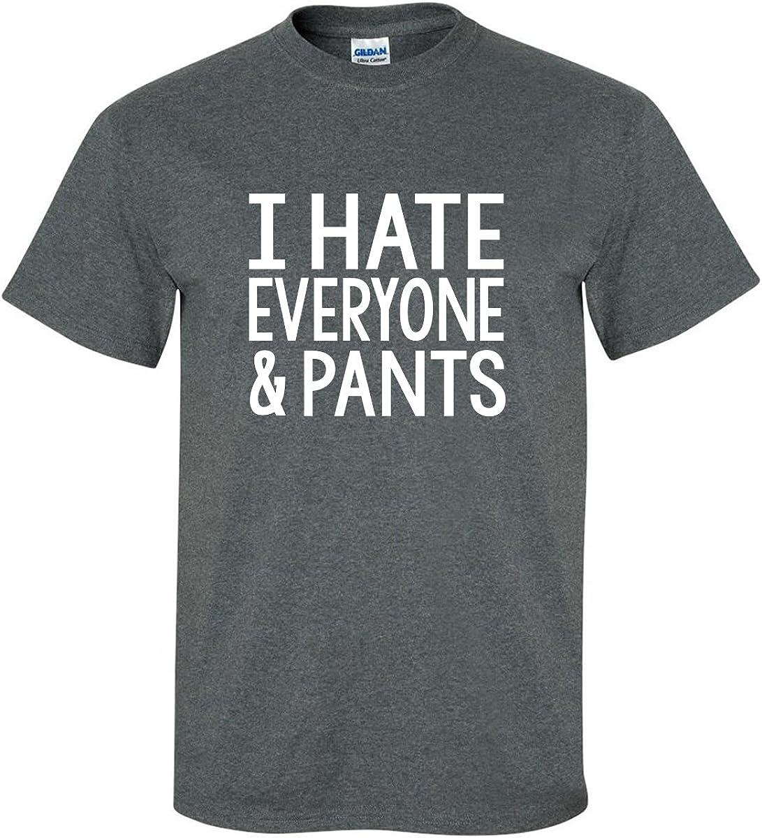 zerogravitee I Hate Everyone and Pants Adult Short Sleeve T-Shirt