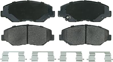 Wagner QuickStop ZX914 Semi-Metallic Disc Pad Set Includes Pad Installation Hardware, Front