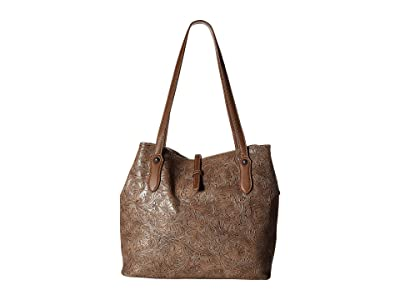 M&F Western Ariana Conceal Carry Tote (Brown) Handbags