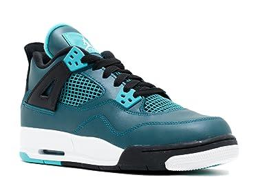Jordan Air 4 Retro 30th BG Big Kids Shoes Teal/White-Black-Retro 705330-330