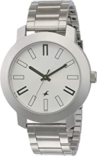 Fastrack Casual Analog Silver Dial Men's Watch -NK3120SM01