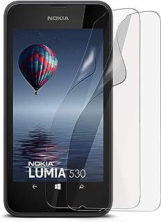 Matt skyddsfolie för Nokia Lumia 530, 5 x Stück, transparent