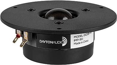 "Dayton Audio DC28F-8 1-1/8"" Silk Dome Tweeter"