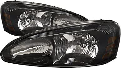HEADLIGHTSDEPOT Compatible with Pontiac Grand Prix New Headlights Headlamps Set