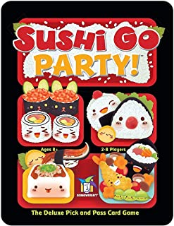 Sushi Go Party! Card Game (ages 8+) (players 2-8)