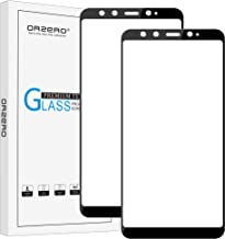 (2 Pack) Orzero for Xiaomi Mi 6X, Xiaomi Mi A2 Tempered Glass Screen Protector, 2.5D Arc Edges 9 Hardness HD Anti-Scratch ...