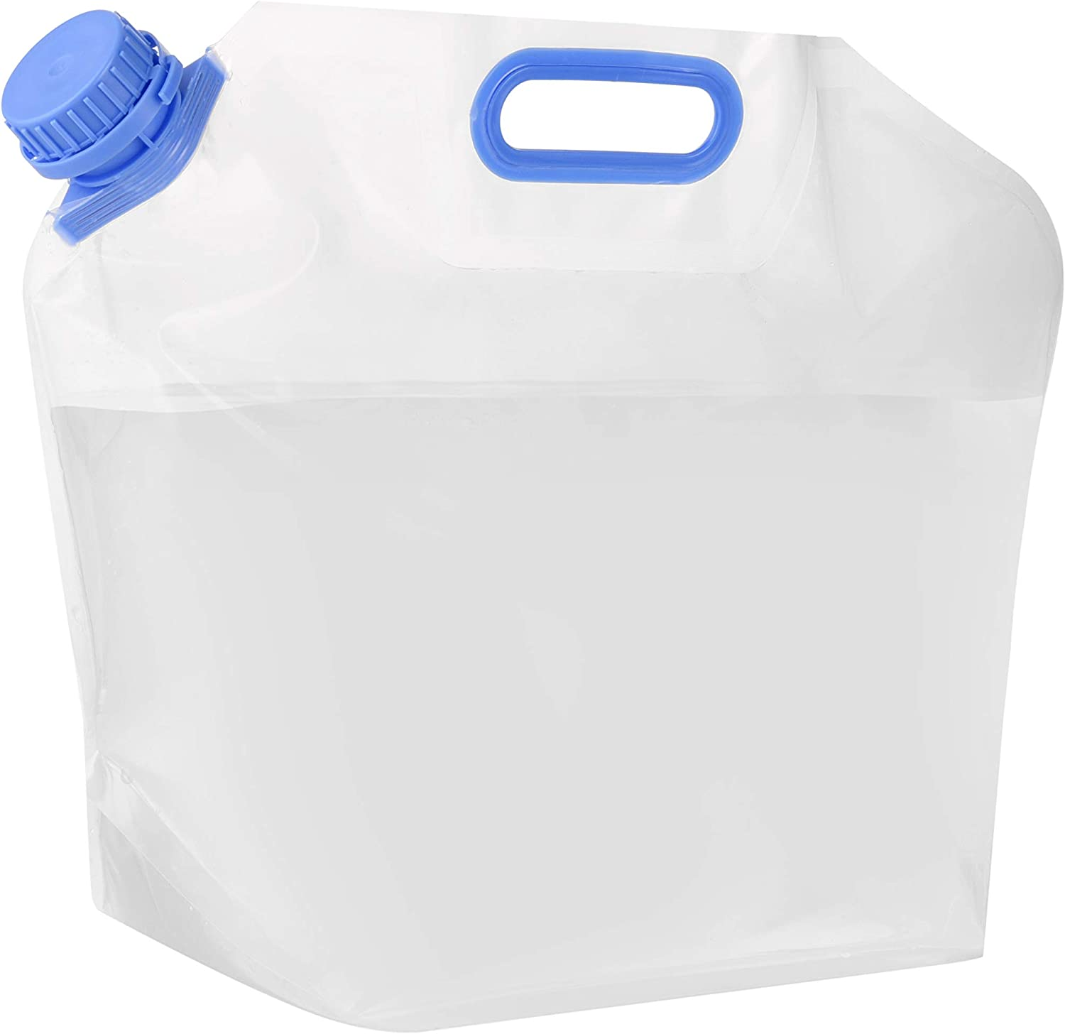 BPA-Free Folding Collapse/Water/Container with Spigot AHIER Collapsible Water Container Food-Grade Camping Water Storage Carrier Jug for Outdoor Hiking Emergency 10L