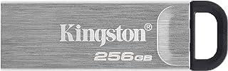 Kingston 256GB DataTraveler Kyson USB Flash Drive USB 3.2 Gen 1 speeds Metal DTKN/256GB