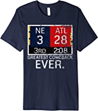 New England 3 - Atlanta 28 T-Shirt - Greatest Comeback Ever