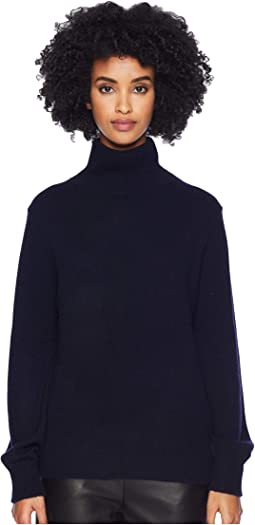 Bishop Sleeve Turtleneck