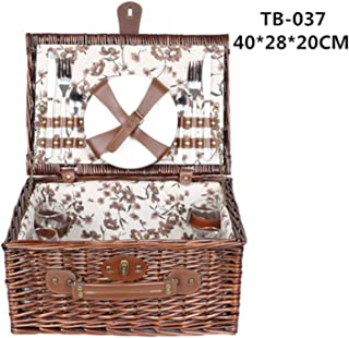 Best picnic perfect 3d wicker picnic basket Reviews