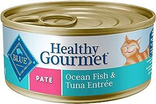 Blue Buffalo Adult Pate - Ocean Fish And Tuna Entree - 24 X 5.5 Oz