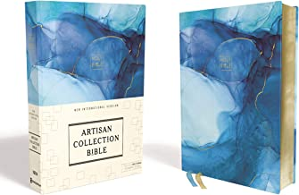 Download Book NIV, Artisan Collection Bible, Cloth over Board, Blue, Art Gilded Edges, Red Letter, Comfort Print PDF