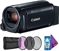 Canon VIXIA HF R800 Camcorder (Black) + Creative Filter Kit