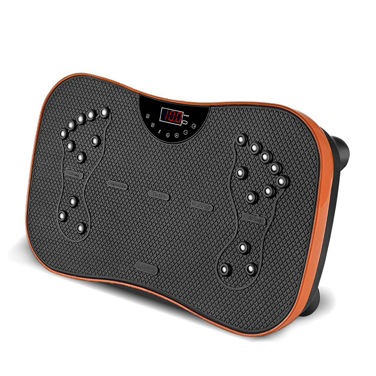 ペースト外向きポーチ振動マシン フィットネスマシン スマート 振動ステッパー バランスウェーブ 老害物排出 脂肪燃焼 振動フィットネスマシン Bluetooth接続 音楽プレイヤー機能付 (イエロー)