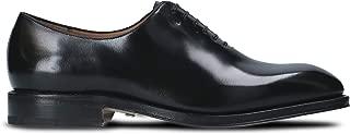 SALVATORE FERRAGAMO Luxury Fashion Mens 026359 Black Lace-Up Shoes   Season Permanent