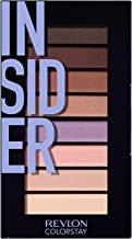 Revlon Colorstay Looks Book Eyeshadow Palette, Insider, 3.4 Ounce