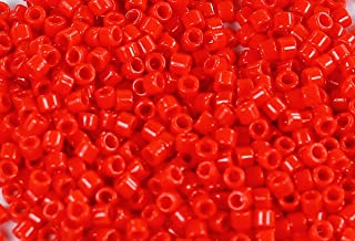 11/0 TOHO Treasures Japanese Glass Seed Beads #45A-Opaque Cherry 5g