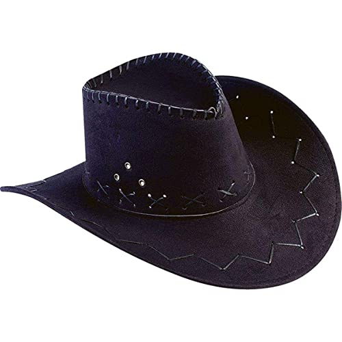 ad15f357a3c493 Best Fame Int'l Trading Co Ltd Men's Faux Leather Cowboy Hat