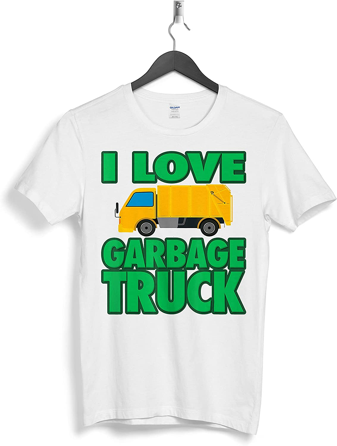 I Love Garbage Truck Cool Little Junk Lover Custom Personalized T-Shirts Gift