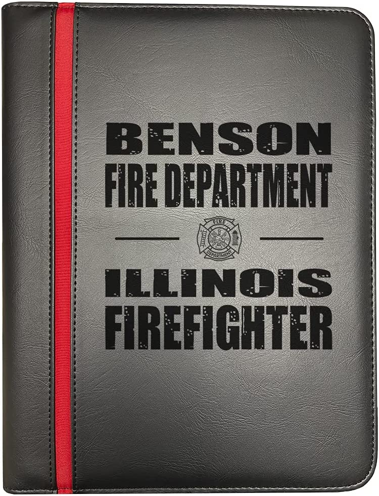 Benson Illinois Fire Departments Firefighter Our shop most popular Thin Firef Red Line Cheap mail order sales