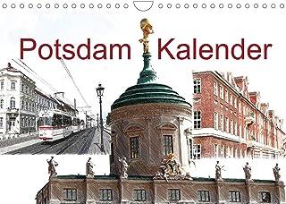 Potsdam Kalender (Wandkalender 2022 DIN A4 quer): Potsdam, Weltkulturerbe, Metropolregion mit Zukunft in Digi-Art. (Monats...