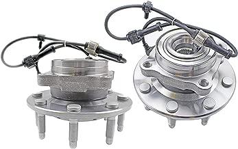 Bodeman - Pair 2 Front Wheel Hub and Bearing Assembly for 1999-2004 GMC Sierra 2500/2001-2006 GMC Sierra 2500 HD / 2007 GMC Sierra 2500 HD Classic - 4WD