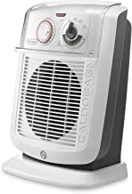 DeLonghi HBC 3052T calentador de ambiente - Calefactor (230V, 50 Hz, 2400W, 27.6 cm, 22.7 cm, 37.8 cm) Color blanco