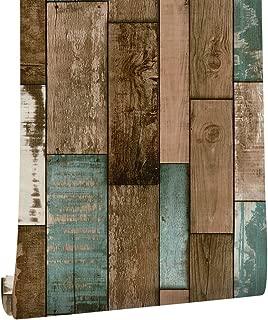 Akea Wood Peel and Stick Wallpaper 17.7 x 118