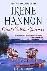 That Certain Summer: Encore Edition Kindle Edition