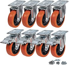 Best 4 inch metal casters Reviews