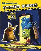 Disney Pixar Monsters Inc Sticker Scenes (Disney Sticker Scene)