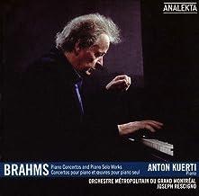 Brahms Piano Concertos Piano Solo Works