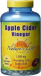 Nature's Life Apple Cider Vinegar 1,000 mg | 250 ct