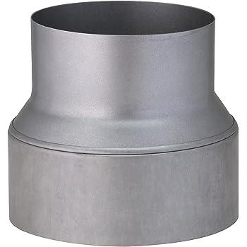 DN 200-350 Riduzione e//o aumento di diametro in acciaio inox per canna fumaria